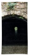 Canal Tunnel 2 Bath Towel