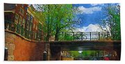 Canals Of Amsterdam Hand Towel