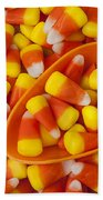 Candy Corn Bath Towel