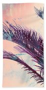 Candy Palms Bath Towel