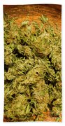 Cannabis Bowl Hand Towel