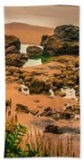 Cannon Beach, Oregon 3 Bath Towel by Shiela Kowing