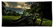 Cannon Encampment Valley Forge Bath Towel