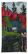 Canoe Lake Chairs Hand Towel