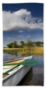 Canoeing In The Everglades Bath Towel