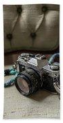 Canon Ae-1 Film Camera Bath Towel