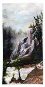 Canyon Falls Bath Towel