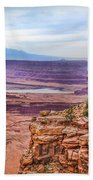 Canyon Landscape Bath Towel by James Woody