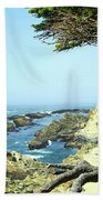 Cape Arago, Or. Bath Towel