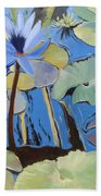Capistrano Lillies Bath Towel