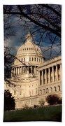 Capitol Building Bath Towel