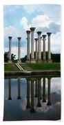 Capitol Columns, National Arboretum Bath Towel