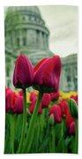 Capitol Tulips Bath Towel