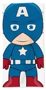 Captain America Bath Towel