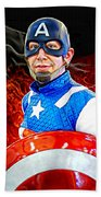 Captain America Super Hero Bath Towel