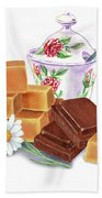 Caramel Chocolate Bath Towel