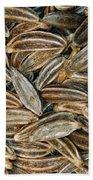 Caraway Seeds Bath Towel