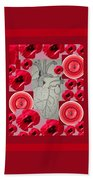 Carazon2 By Beth Valory And Julia Woodman Hand Towel