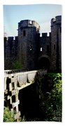 Cardiff Castle Gate Bath Towel