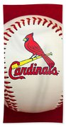 Cardinals Bath Towel