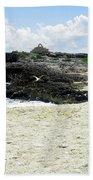 Caribbean Beach Scenic Bath Towel