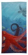 Caribbean Reef Octopus Bath Towel