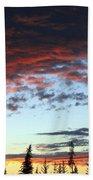Cariboo Country Sunset   Bath Towel