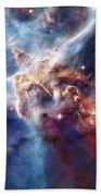 Carina Nebula Pillar Bath Towel