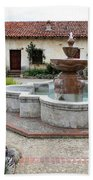 Carmel Mission Courtyard Bath Towel