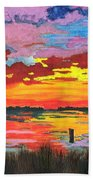 Carolina Sunset Bath Towel