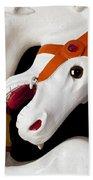 Carousel Horse 2 Bath Towel