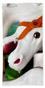 Carousel Horse 3 Bath Towel