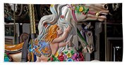 Carousel Horse And Angel Hand Towel