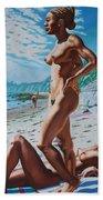 Carpenteria Nude Beach Hand Towel