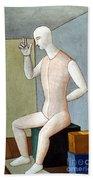 Carra: Idol, 1917 Hand Towel