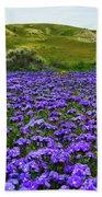 Carrizo Plain National Monument Wildflowers Bath Towel
