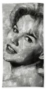 Carroll Baker Vintage Hollywood Actress Hand Towel