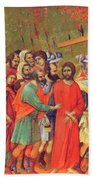 Carrying Of The Cross 1311 Bath Towel