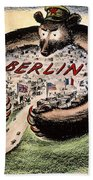 Cartoon: Cold War Berlin Bath Towel