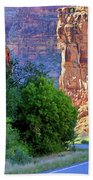 Carving The Canyons - Unaweep Tabeguache - Colorado Bath Towel