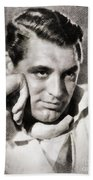 Cary Grant, Hollywood Legend By John Springfield Bath Towel