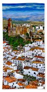 Casares From Signal Hill Hand Towel