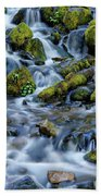Cascade Of Many Waters Hand Towel