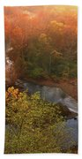 Cascade Valley Sunrise Bath Towel