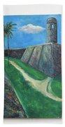 Castillo De San Marcos Bath Towel