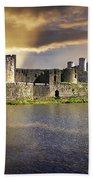 Castle At Dawn Bath Towel