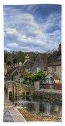 Castle Combe England Bath Towel