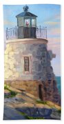 Castle Hill Light Newport Ri Bath Towel