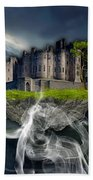 Castle In The Sky Art Bath Towel