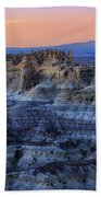 Castle Rock Sunset Bath Towel